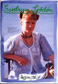 Gudrun Sjödén Catalogue - Summer 1995
