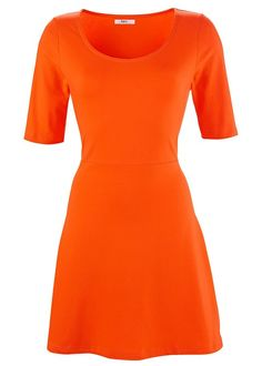Love a good skater dress - and this one comes in orange, navy, magenta, black and print! Jersey skater dress A classic swing • £14.99 • bonprix