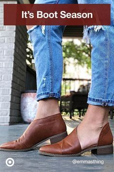 Boot season is upon us! Try fall styles, in ankle or over-the knee heights & a Western-inspired nod. Shoe Boots, Shoes Sandals, Dress Shoes, Flat Shoes, Cute Shoes, Me Too Shoes, Fall Wardrobe, Beautiful Shoes, Women's Pumps