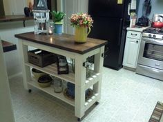 Modified Michaela's kitchen island | Do It Yourself Home Projects from Ana White