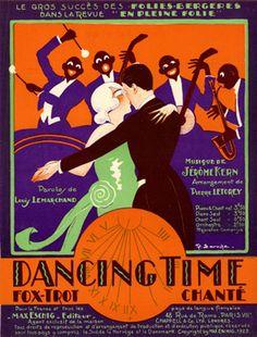 Dancing Time, 1922 (ill.: Robert Laroche); ref. 1143