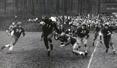 A football game.