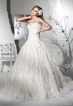 http://weddinginspirasi.com/2012/02/16/maria-karin-wedding-dresses-2012/ maria karin #wedding 2012 collection #weddings #weddingdress