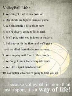 Art Is Like Quotes | ... More volleyball life quote art at patience quotes com | Source Link