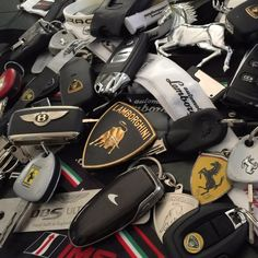 Working our way through these keys haha next Supercar being collected tomorrow any guesses what it might be #lamborghini #ferrari #lotus #mclaren #bentley