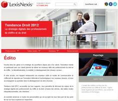 #LexisNexis #TendancesDroit2012 #atnetplanet #SiteInternet