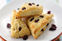 Buttermilk Scones with Cranberry