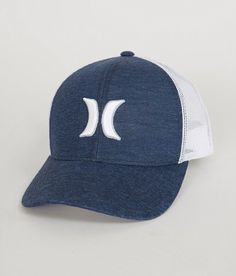Hurley Newport Trucker Hat - Men s Hats in Obsidian  42a181f97f02