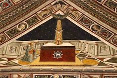 Lorenzo di Pietro detto il Vecchietta - Simbolo Apostolico (ca. 1450) ... Credo nello Spirito Santo ... Siena, Battistero di San Giovanni. Foto tratta dal sito http://www.gliscritti.it/