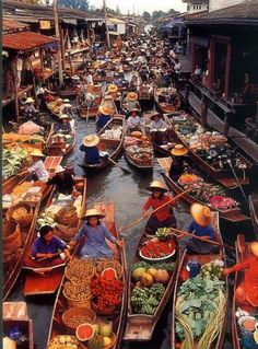 Floating Market, Thailand
