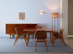 Rattan Chairs by Josheph Andre Motte