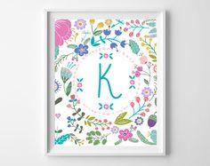 Free Printable Art {Baby Girl Gift Idea}