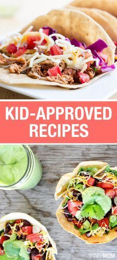 Here are some delicious vegetarian options for your kiddos!