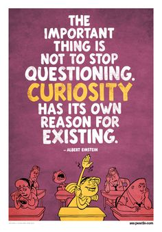 The thing about curiosity