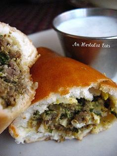 Beef Piroshki from Moscow On The Hill's fantastic happy hour, St. Ukrainian Recipes, Russian Recipes, Best Dishes, Main Dishes, Polish Recipes, Polish Food, Easter Recipes, Easter Food, Russian Restaurant