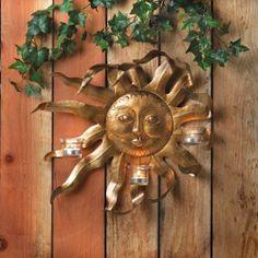 Sun Candle Holder Price: $ 39.95
