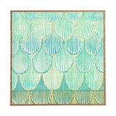 Found it at Joss & Main - Turquoise Scallops Framed Print