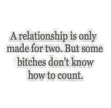 a relationship is made for two. But some people dont know how to count and instead leave threatening phone messages. Getting fed bullshit I see and you believe it. Petty Quotes, Ex Quotes, Sarcasm Quotes, Bitch Quotes, Real Talk Quotes, Badass Quotes, Mood Quotes, Funny Quotes, Bitchyness Quotes Sassy
