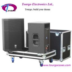 D&B Audiotechnik E12 speaker flightcase holds 2