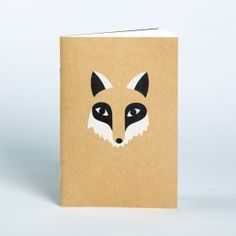 How cute is this little Fox Notebook :)
