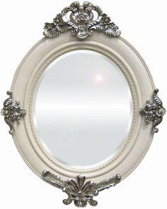 espejo shabby espejo retro todo vintage decoracin vintage en goyart decoracin shabby chic retro decoracin espejos originales acabado blanco