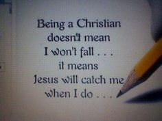 Being a Christian doesn't mean I belong to a church... it means I belong to Jesus