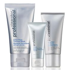 Clearskin® Professional Cleanse & Fade Collection- Make a date with your allies against acne! Collection includes:Clear Pore Thermal Mask2. Regularly $15.99, buy Avon Skincare online at http://eseagren.avonrepresentative.com