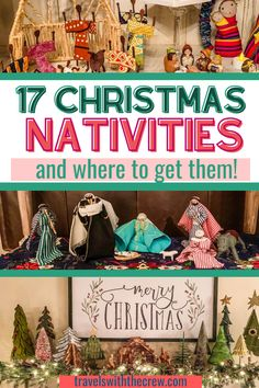Where to find authentic Christmas nativities, how to display them and how to store them! Everything you need to know about nativities from around the world. #christmascreche #christmasnativity Travel Presents, Travel Gifts, Christmas Destinations, Travel Destinations, Christmas Nativity, Christmas Ornaments, Global Decor, Christmas Travel, Christmas Activities