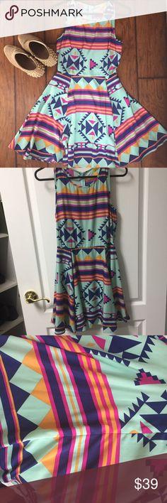 I just added this listing on Poshmark: Dee Elle Aztec print dress. #shopmycloset #poshmark #fashion #shopping #style #forsale #Dee Elle #Dresses & Skirts