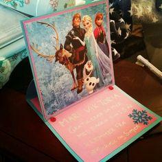 Card Girl Anna & Elsa