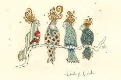 Anna Wright A Crackle of Cockatoos | Shop | Prints | collective nouns