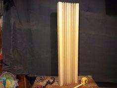 sobras de difusor estúdios de som. 3 peças em madeira bruta.