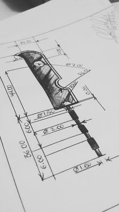 Eng. Drawing - Zabuza's Sword by JoeCoool on DeviantArt ...