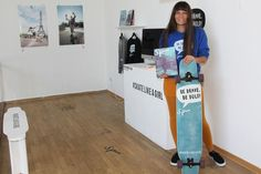 Getting the female focused longboard magazine printed! Communication Design, Print Magazine, Spinning, Skate, How To Find Out, Campaign, Learning, Printed, Women