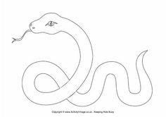 Snake outline