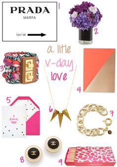 V Day Wish List / Gift Guide