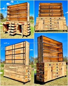 Recycling wood pallets to shape a furniture of your choice and need is always interesting. We craft trendy things with little effort and time at our own workshop. The main importance is of used wood pallets that are inexpensively available at industrial area surroundings.