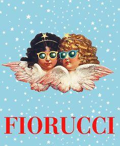 CLASSIC !!!! • L@@K !!!!   http://www.ebay.com/itm/Fiorucci-Angels-With-Sunglasses-Iconic-Poster-VERY-RARE-Blue-Sky-1977-MINT-/130893289355?pt=Art_Posters=item1e79d9178b