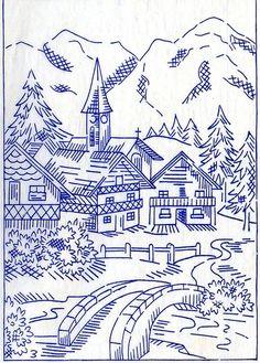 Vintage embroidery 1952 by sue-tarr, via Flickr