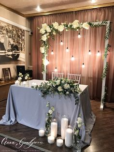 Head Table Decor Head Tables Bridal Table Wedding Table Diy Wedding Wedding – Wedding Tips & Themes Head Table Decor, Wedding Table Decorations, Bridal Shower Decorations, Wedding Centerpieces, Diy Table, Wedding Themes, Wedding Cakes, Head Table Backdrop, Wedding Cake Backdrop