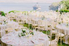 Elegant and stylish wedding dcor | wedding reception | summer wedding | Greek island weddings | Athens Riviera | luxury weddings