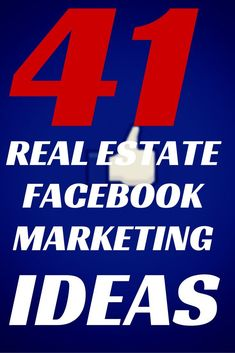 41 Real Estate Facebook Marketing Ideas for those times when you don't know what to do on Facebook! Do you ever have a loss for words when it comes to your status? Do you ever think there must be a better way to engage the 1.11 BILLION people on FB? Here are 41 ways to market to them are a realtor! Click to see / Repin to remember for later. #marketing #realestate