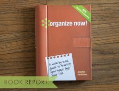 organize now!  book