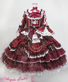 Angelic Pretty Dressy Time Dress                                                                                                                                                                                 More