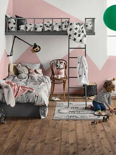 When decorating a kid's room, designers (and design-minded parents) tend to give themselves more creative license to let loose and fill the space with their most whimsical and imaginative ideas. To borrow some of these bold ideas and inventive uses for little spaces, we're scouting out children's rooms with style lessons to spare. Class is in session.