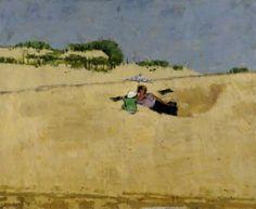 Dunes, William Brooker oil on canvas
