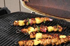 Hawaiian Chicken Kabobs recipe pictures