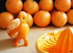 """I searched for """"orange food"""" and this is what I found! Too fun."""