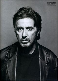 Al Pacino..Exudes Raw Sex Appeal.......
