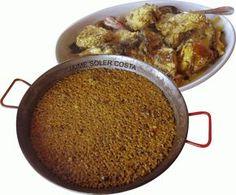 Esta receta es típica de las islas Baleares . Consiste en preparar un guiso con pescado de roca, y con el caldo de este guiso, se prepara u...